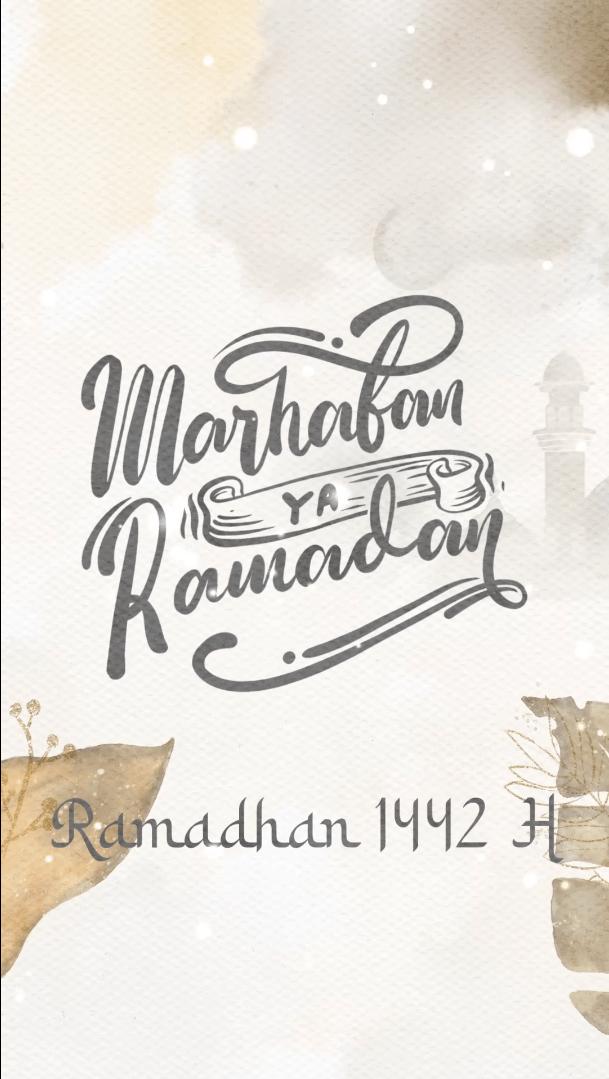 SS Yellow Banksia Ramadhan - Ucapan Ramadhan